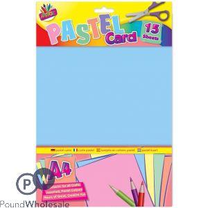 ARTBOX 15 SHEETS PASTEL CARD