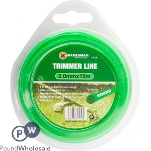 MARKSMAN TRIMMER LINE 2.0MM X 15M