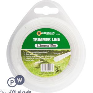 MARKSMAN TRIMMER LINE 1.3MM X 15M