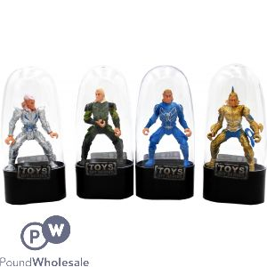 ELVEN KNIGHTS IN PLASTIC OVAL DISPLAY CASE