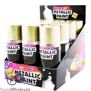 Gold Lacquer Spray 110ml Aerosol can in CDU