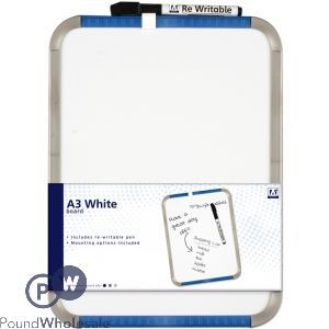 HANGING A3 WHITE BOARD SET