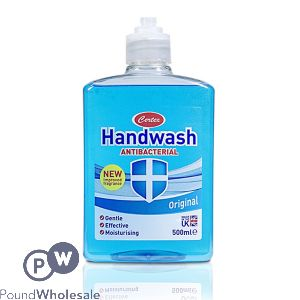 CERTEX ORIGINAL ANTIBACTERIAL HANDWASH 500ML