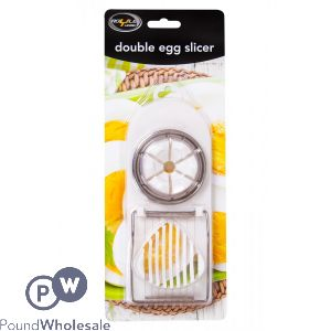 ROYLE HOME DOUBLE EGG SLICER