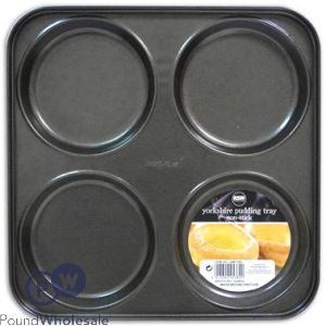 NON-STICK YORKSHIRE PUDDING-TRAY 4 CUP