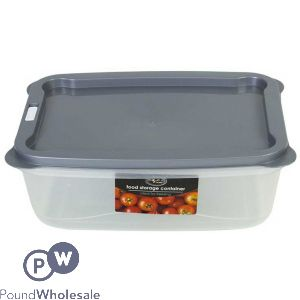 COOKHOUSE FOOD STORAGE BOX WITH VENT 3 LITRE 3 ASSORTED COLOURS