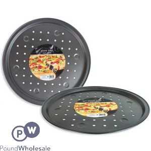 PIZZA BAKING TRAY WITH HOLES 33CM