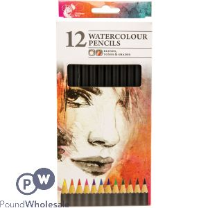 CHILTERN ARTS 12 WATERCOLOUR PENCILS