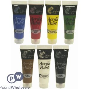 8ACRYLIC PAINT TUBES 120ML