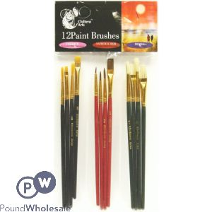 CHILTERN ARTS ARTIST BRUSHES 10PK