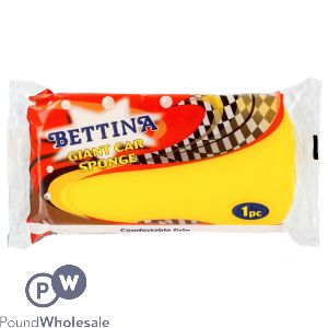 BETTINA GIANT CAR SPONGE