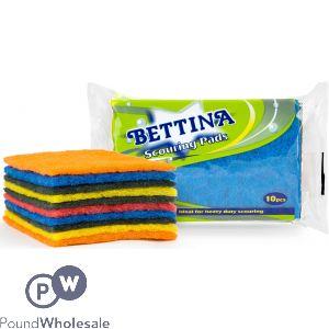 BETTINA SCOURING PADS 10PC