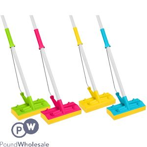 Squeezy Mop With Handle Assorted Colours