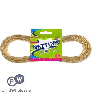 BETTINA REINFORCED STEEL CORE WASHING LINE 20M