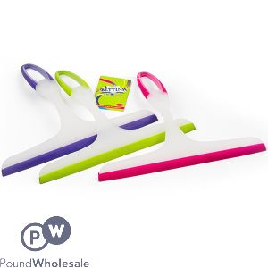 Window squeegee 3 Assorted Colours