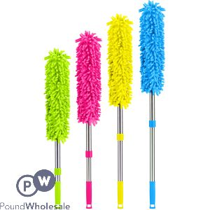 CHENILLE NOODLE DUSTER IN 4 ASSORTED COLOURS
