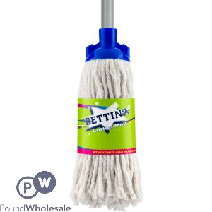 BETTINA PREMIUM COTTON MOP WITH HANDLE