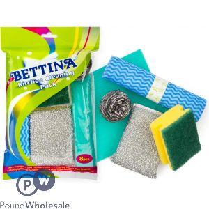 BETTINA KITCHEN CLEANER KIT 8PC