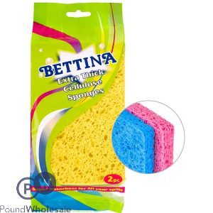 BETTINA EXTRA THICK CELLULOSE SPONGES