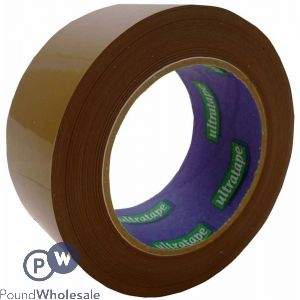 BROWN TAPE HEAVY DUTY 50 MICRONS 48MM X 132MM