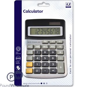 EASY TO USE PERSONAL DESK CALCULATOR