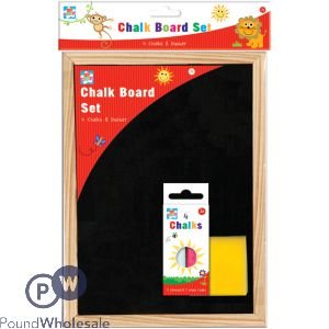 KIDS CREATE A4 CHALK BOARD SET