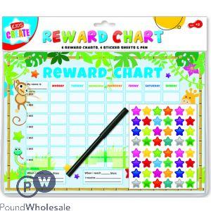 KIDS CREATE REWARD CHART