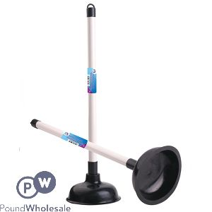 DID RUBBER PLUNGER WITH PLASTIC HANDLE BLACK