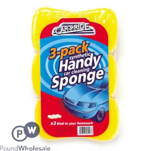 HANDY CAR SPONGES 3Pk
