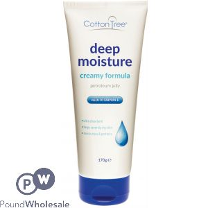 COTTON TREE DEEP MOISTURE CREAMY PETROLEUM JELLY