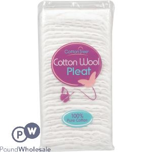 100% COTTON WOOL PLEAT 125G