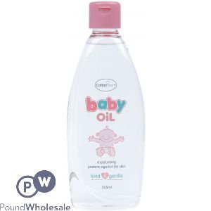 COTTON TREE BABY OIL 355ML