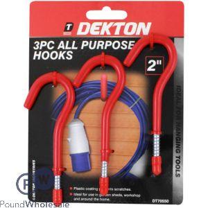 DEKTON 3PC HOOKS 3MM