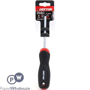DEKTON POZI#2 SCREWDRIVER 100MM
