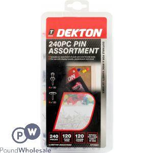 DEKTON 240PC PIN ASSORTMENT