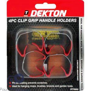 DEKTON 4PC CLIP GRIP HANDLE HOLDERS