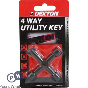 DEKTON 4 WAY KEYS