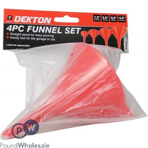 DEKTON 4 PIECE FUNNEL SET