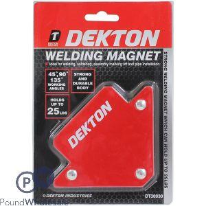 DEKTON WELDING MAGNET 25LB