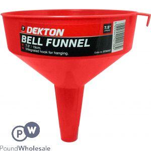 "DEKTON BELL FUNNEL 7.5"""