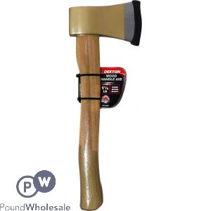 DEKTON WOOD HANDLE AXE 1 1/2 LB