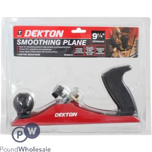 "DEKTON SMOOTHING PLANE 9 1/4"""