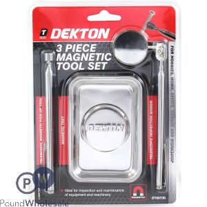 DEKTON 3 PIECE MAGNETIC TOOL SET