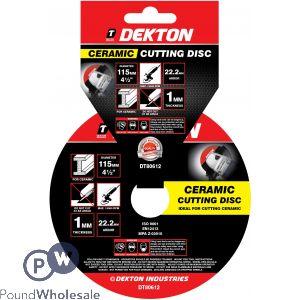DEKTON 2300MM METAL CUTTING DISC ULTRA THIN