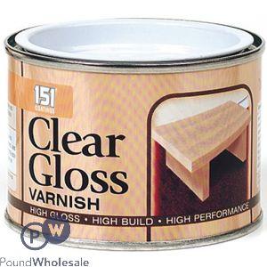 151 CLEAR GLOSS VARNISH 180ML