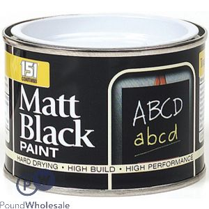 151 MATT BLACK PAINT 180ML