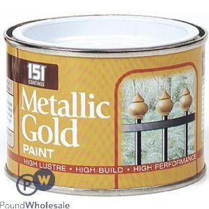 151 METALLIC GOLD PAINT 180ML