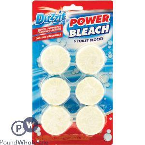 DUZZIT POWER BLEACH 6 TOILET BLOCKS