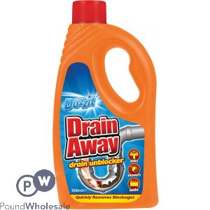 DUZZIT DRAIN AWAY DRAIN UNBLOCKER 500ML