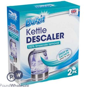 DUZZIT DROP-IN KETTLE DESCALER 2 PACK